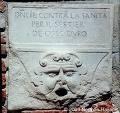 Bocca di Leone sul muro della chiesa alle Zattere.jpg