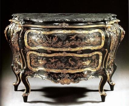 I mobili del settecento veneziano e i loro autori i for Mobili veneziani