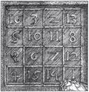 il quadrato magico in melancolia di Durer.jpg