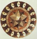 dodecaedro stellato0 di Keplero mosaico di Paolo Uccello.jpg