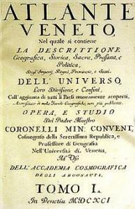 Atlante Veneto di Coronelli