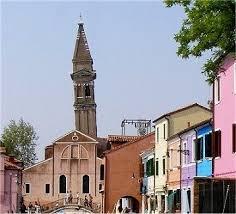 Camnpanile di Burano a Venezia