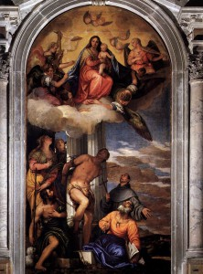Madonna, S. Sebastiano ed alstri santi