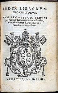 indez librorum prohibitorum