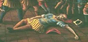 Baiamonte Tiepolo e il morteer