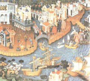 navi a Venezia